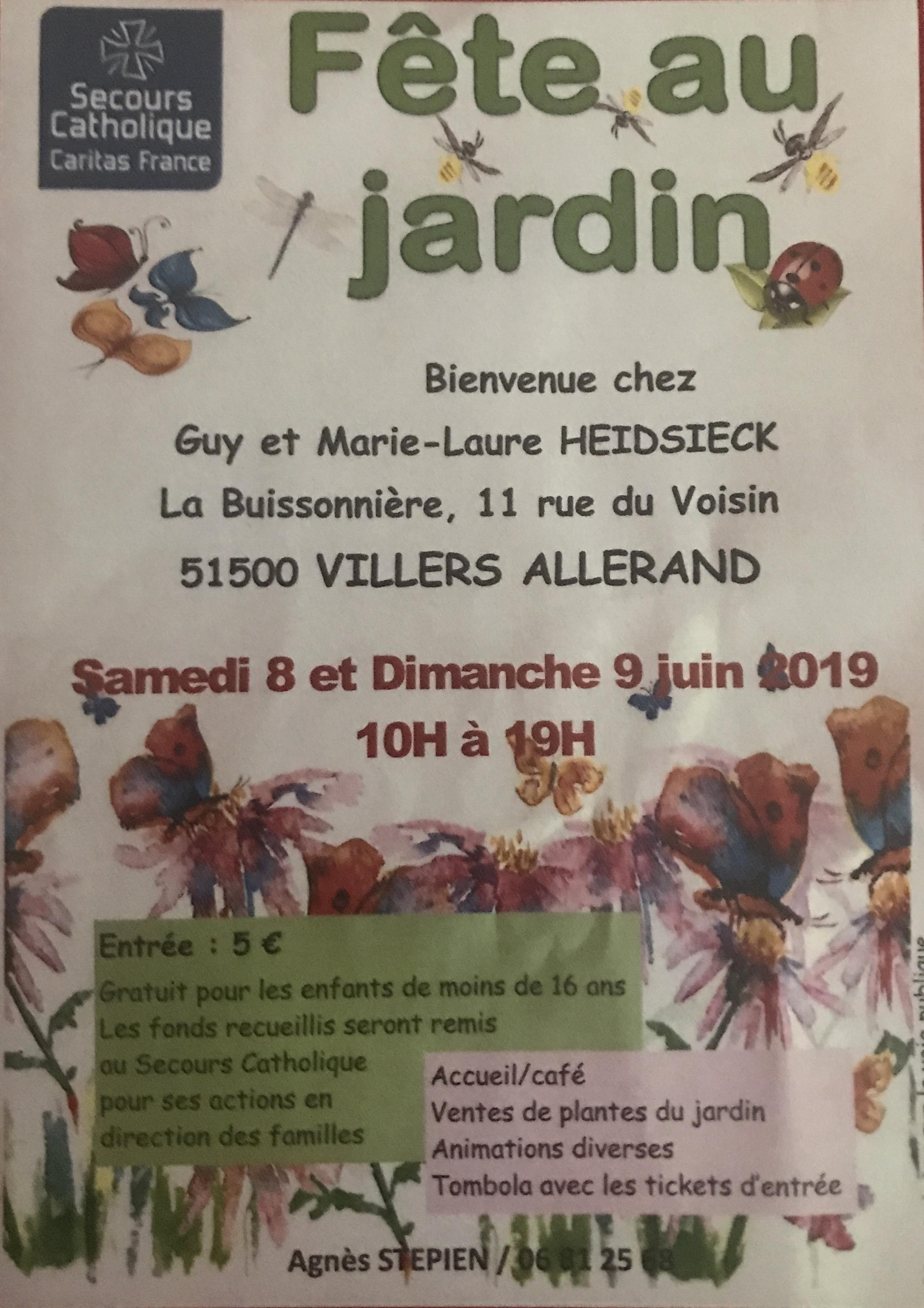 Fête au Jardin @ La Buissonière   Villers-Allerand   Grand Est   France