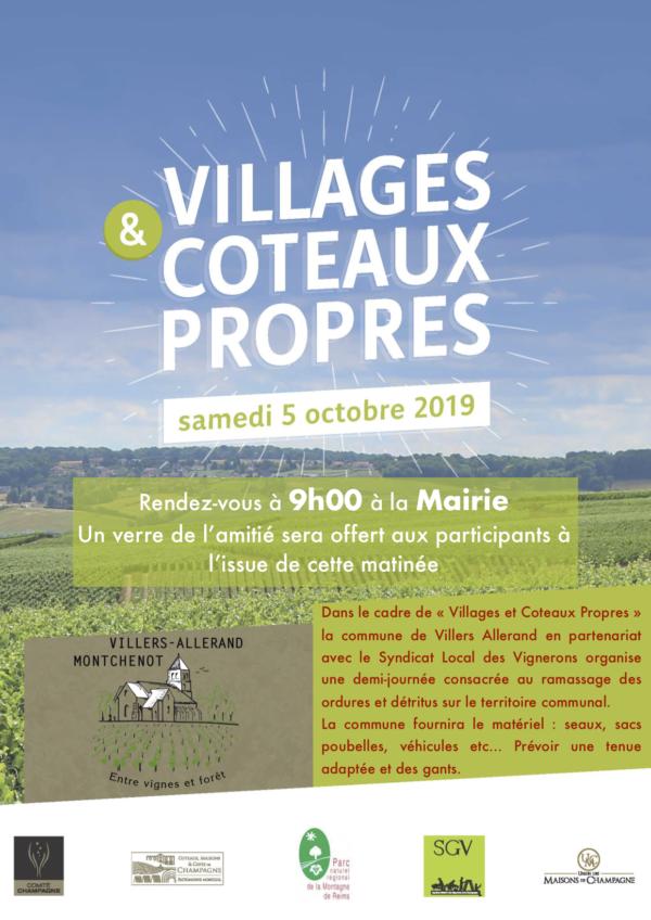 Villages et Côteaux propres @ Mairie de Villers-Allerand Montchenot | Villers-Allerand | Grand Est | France