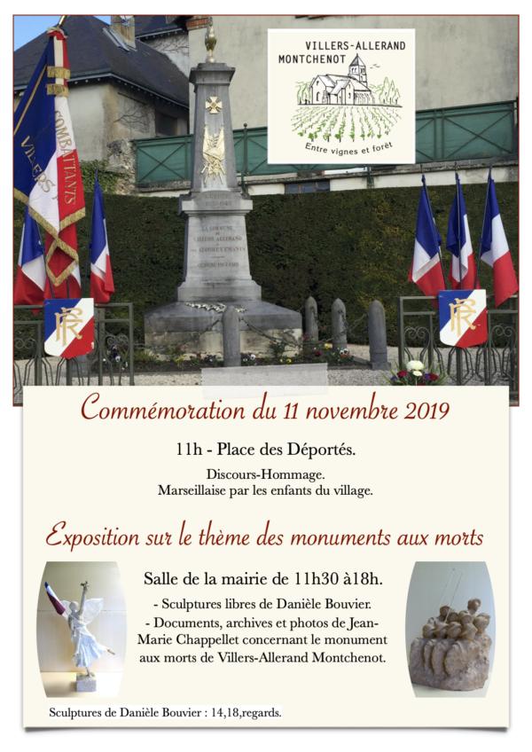 Cérémonie Commémorative @ Place des déportés | Villers-Allerand | Grand Est | France