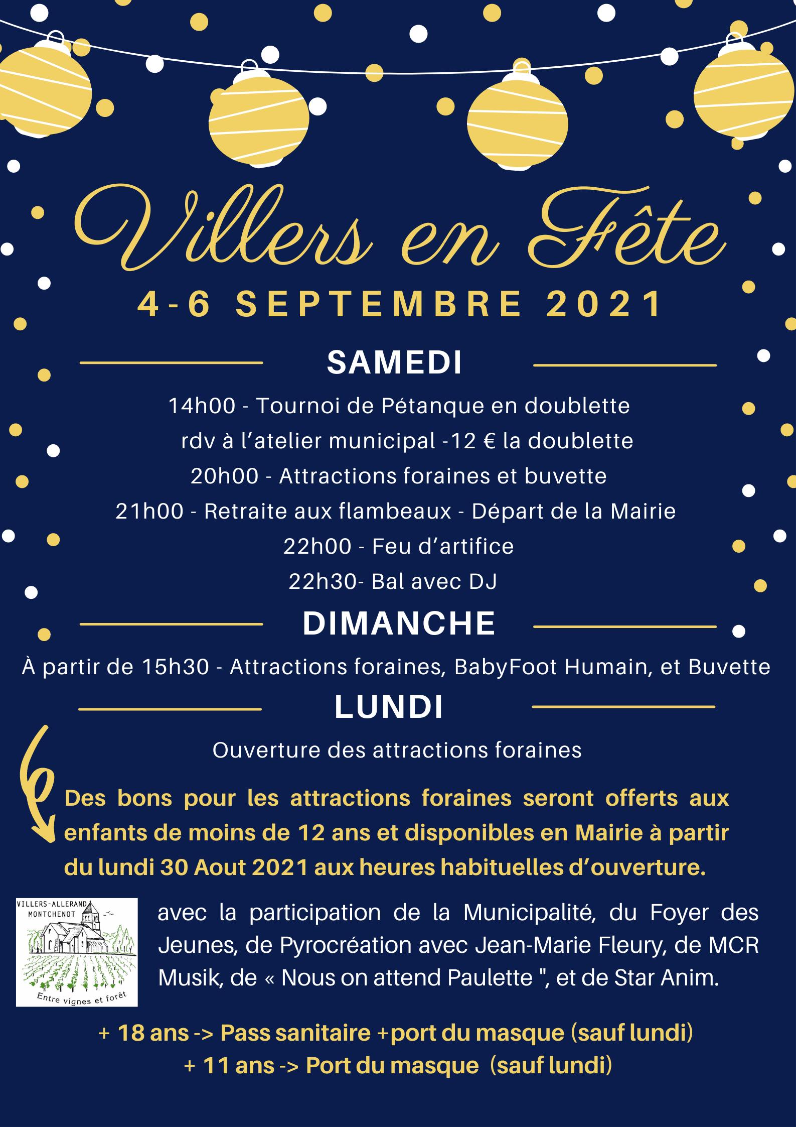 Villers en Fête @ Villers-Allerand | Grand Est | France